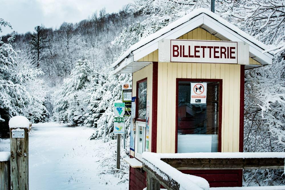 Ski P Tit Train Du Nord