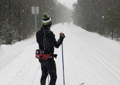 ski de fond -Le P'tit Train du Nord