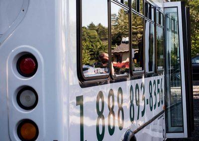 Autobus Le Petit Train du Nord