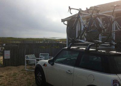 voiture1- vélo sur le toit