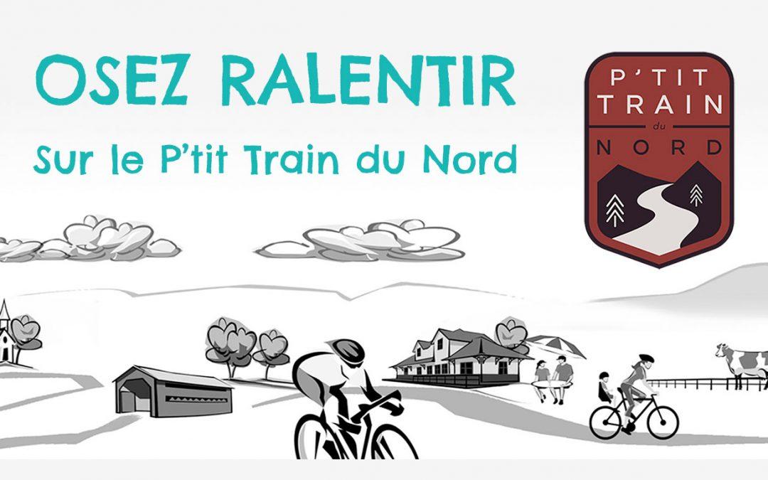 Dévoilement d'un nouveau site web pour Le P'tit Train du Nord