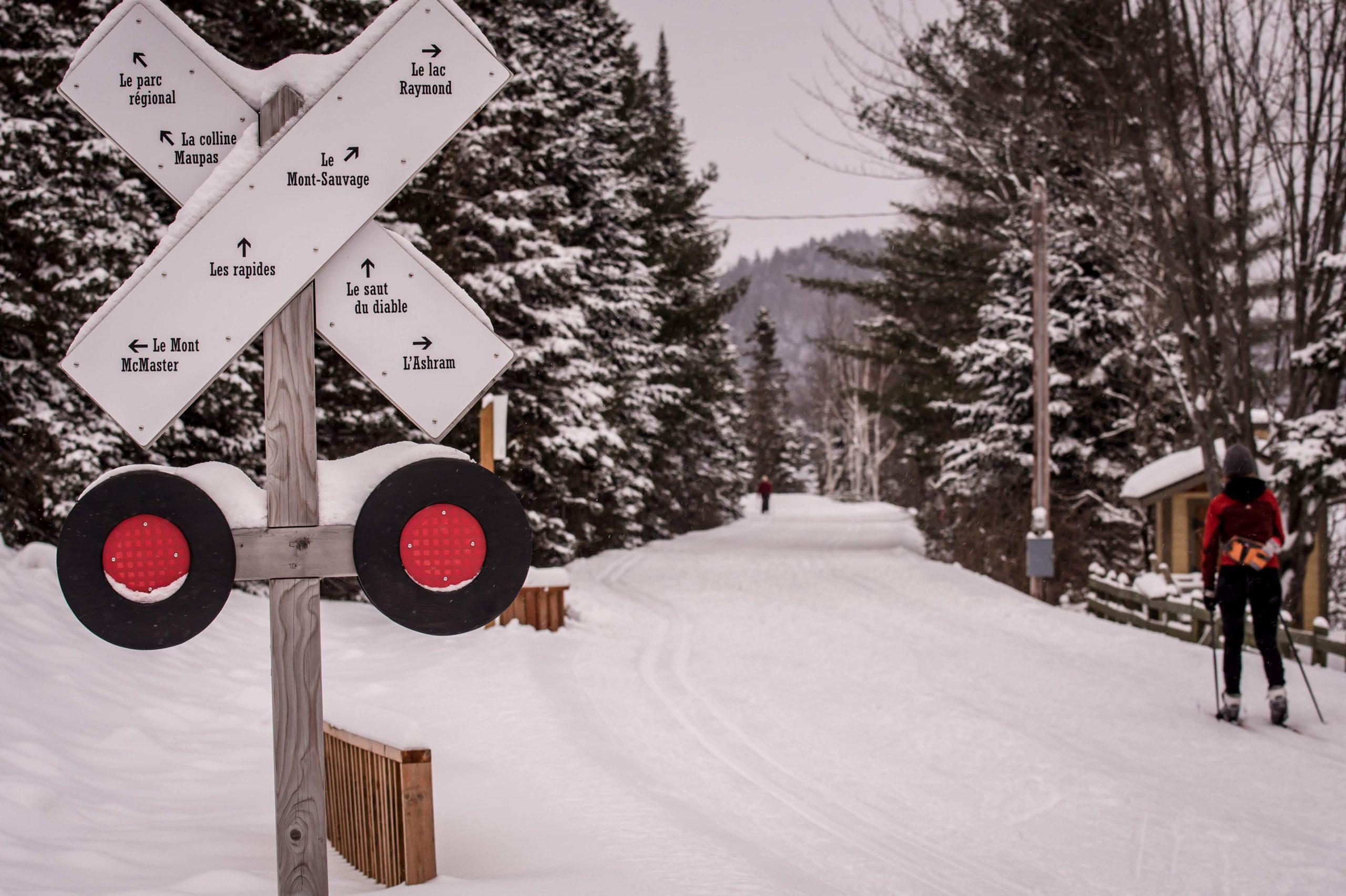 Activités gratuites hiver Laurentides