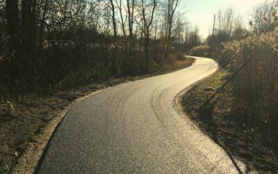 Amélioration de la piste grâce à la ville de Rosemère et Le Grand Sentier