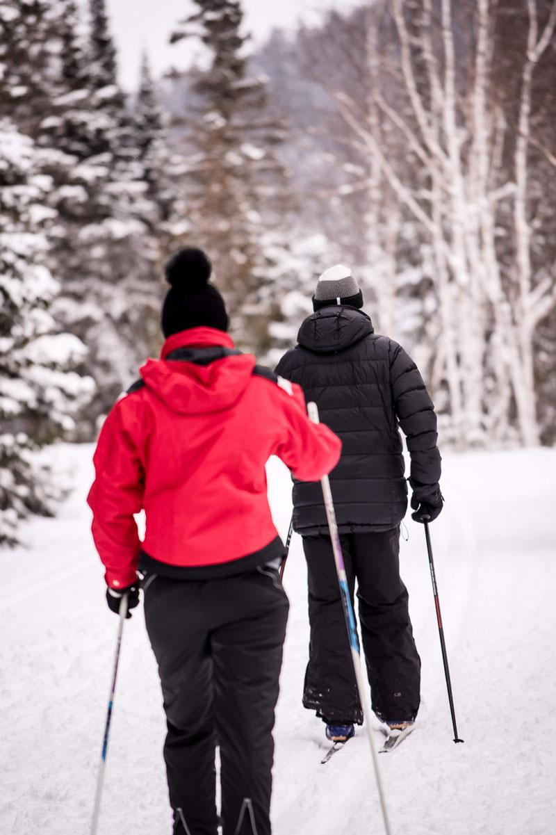 piste ski de fond