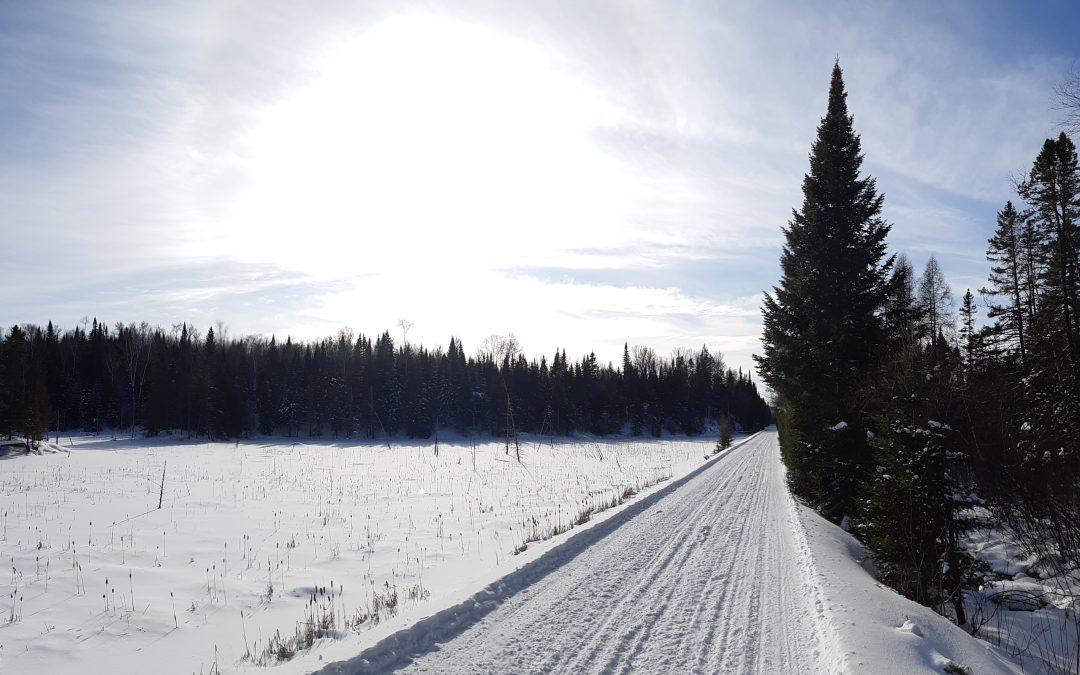 La MRC des Laurentides et le P'tit Train du nord rappellent les activités hivernales autorisées selon les différentes sections