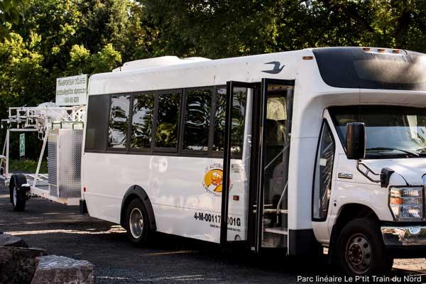 Autobus Petit Train du Nord