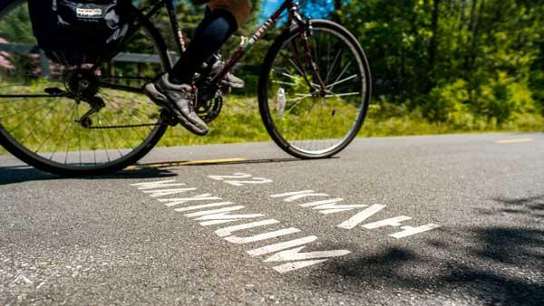 Parc linéaire vitesse vélo