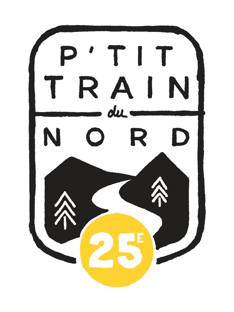 Logo anniversaire tTrain du Nord