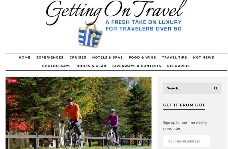 Pedal Quebec's Le P'tit Train du Nord Bike Trail -Getting On travel